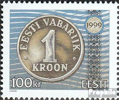 Estonia 346 (complete issue) unmounted mint / never hinged 1999 Currency Reform