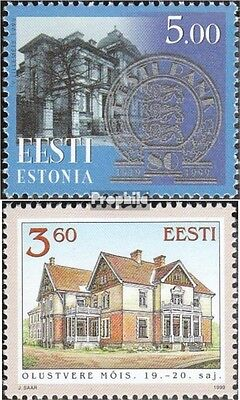 Estonia 344,345 (complete issue) unmounted mint / never hinged 1999 special stam