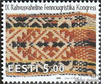 Estonia 375 (complete issue) unmounted mint / never hinged 2000 peoples congress