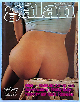 Galan Nr. 5/1977, deutsches Erotik-Magazin, Top!