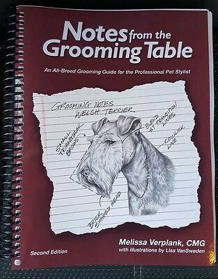 Notes From The Grooming Table (second edition)