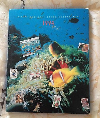 USPS 1994 Commemorative Stamp Collection Hardcover Book NO STAMPS BOOK ONLY