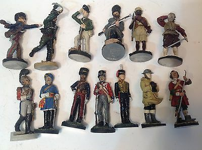 Franklin Mint Waterloo and Soldiers of the British Empire x 13