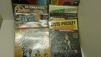 Mixed lot of Elvis LPs - Mint Condition