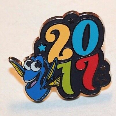 Disney Parks Pin Booster 2017 Dated Character Dory Finding Nemo Pin