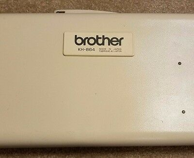 GOOD CONDITION Brother KH- 864 Knitting Machine Made in Japan