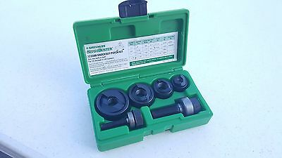 """Greenlee 7235BB Slug Buster Knockout Punch Set 1/2 to 1-1/4"""" Great Condition"""