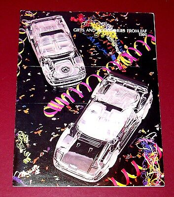 1990 FAF FERRARI GIFTS AND ACCESSORIES CATALOG - 30 pages