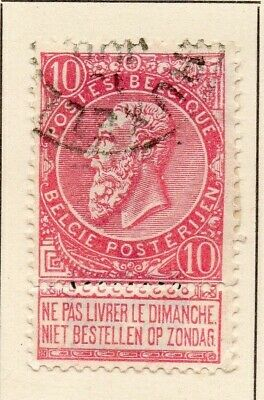 Belgium 1898-1900 Early Issue Fine Used 10c. 124025