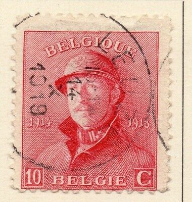 Belgium 1919-20 Early Issue Fine Used 10c. 124065