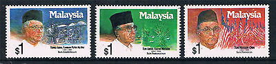 Malaysia 1991 Former Prime Ministers SG 462/4 MNH