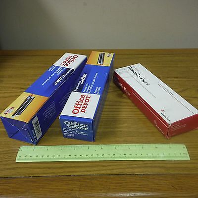 Fax Machine Thermal Paper Box of 2, Replacement Ribbon 2 each. 43-1264, KX-FA 93
