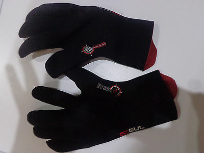 GUL Wetsuit Gloves powerglove 3mm blindstiched SIZE L (NEW)