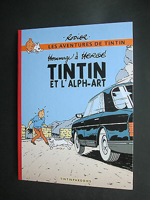 Herge Hommage Rodier Tintin Et L Alph Art Comme Neuf