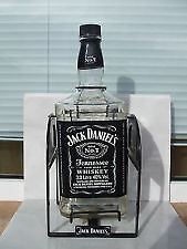 JACK DANIELS Empty 3ltr cradle bottle and box