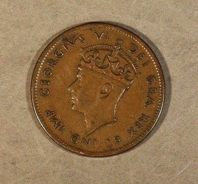 1940 Newfoundland Cent Re-Engraved Date Light Circulation ** FREE US SHIPPING **