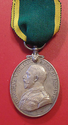 British Territorial Force Efficiency medal Pte. J. McLarty Argyle + Sutherland
