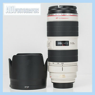 Canon EF 70-200mm f2.8 L IS II USM Lens