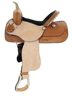 "American Saddlery New 14"" #825 Denero Barrel Saddle Full Quarter Horse Bar"