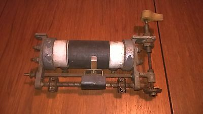 Vintage Panel Mounted Rheostat (electrical/electronic equipment)