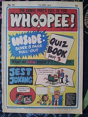 WHOOPEE! Comic - Issue No 13 - 1974 - UK Paper Comic