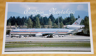 American Airlines MD-11 N1764B, Seattle, May 1995, Aviation Aircraft