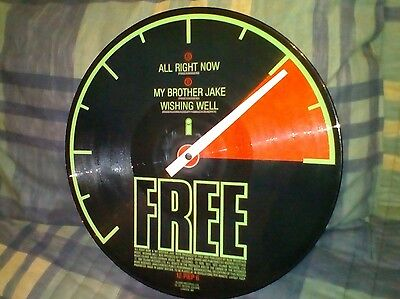 """Free All Right Now 12"""" Picture disc E.P"""