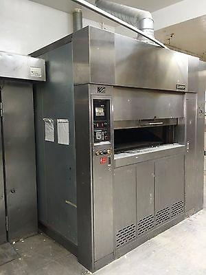 Lucks 18 Pan Revolving Oven Bakery Oven NAT Gas