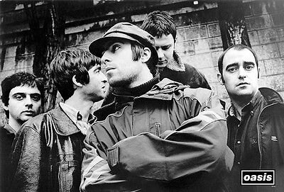 """OASIS ENTERTAINMENT THE POSTER SHEET 24""""x36"""" MUSIC ROCK CONCERT NEW 1 SIDE 55132"""