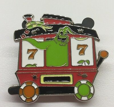 Disney Pin The Nightmare Before Christmas Train Set Oogie Boogie Train Car New