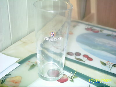 Fosters Pint Beer Glass