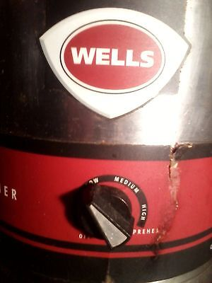 Wells Manufacturing Company - Food / Topping Warmer - Model Llw-4