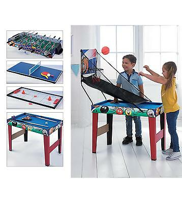 NEW 3ft 7-in-1 Multi Games Table Kids Gift Toy Xmas Toys Pool football MORE N/O