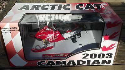 Arctic Cat Firecat F7 Snowmobile Canadian Limited Edition 2003 Diecast Toy