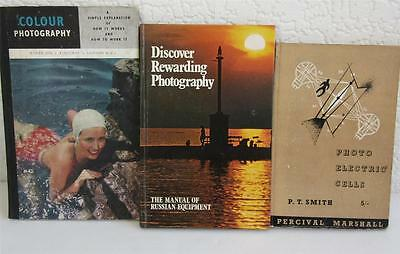 2 Vintage Photography Books