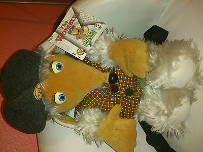 The Wombles Large Bungo Womble Back Pack Plush Soft Toy With Tags ORIGINAL 1998