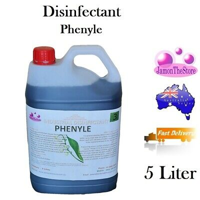 Disinfectant Industrial Strength Heavy Duty Phenyle Phenols Cleaner Pet Area 5lt