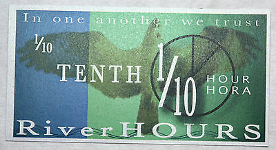1/10 Tenth Hours Hora, River Hours, UNC