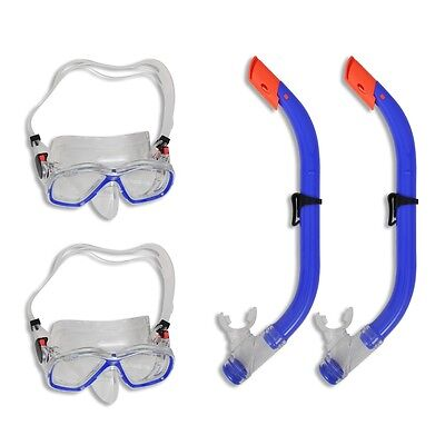#sNew Diving Set Snorkel and Mask Scuba Diving Swimming Goods for Kids 2 Sets