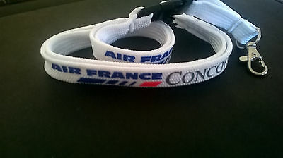 AIR FRANCE  Concorde ID lanyard.