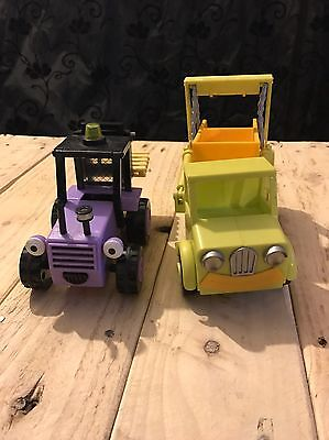bob the builder toys Figures Trix And Skip Vehicles