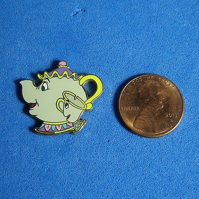 Mrs. Potts & Chip Beauty and the Beast Map Disney Pin DLR GWP