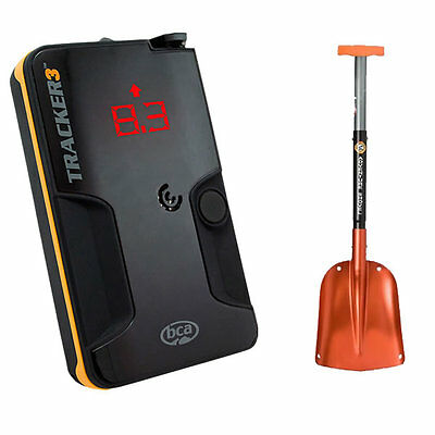 BCA Tracker 3 Avalanche Beacon Digital Avy Transceiver & Avalanche Snow Shovel
