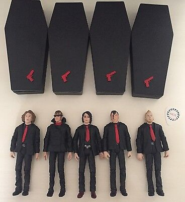 MCR action figures (set of 5) SEE PHOTOS AND DESCRIPTION!!