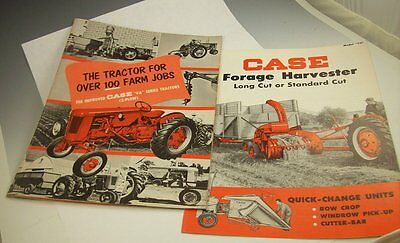 Lot of 1953? CASE VA Series FARM TRACTOR Catalogs