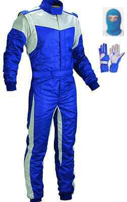kart suit (free balaclava and gloves)