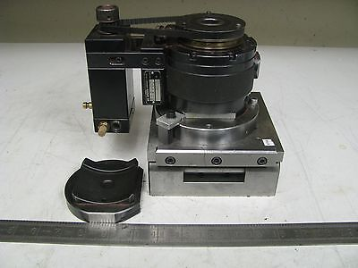 System 3r 3R-1.65 Pneumatic Rotating Spindle w/ Mitutoyo Sine Plate FG31
