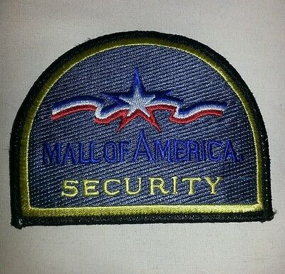 Mall of America Security Minnesota Police Sheriff Patch RARE