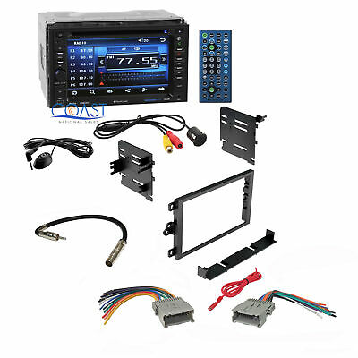 Planet Audio Stereo Dash Kit Harness Rear Camera for 1992-up Chevy GMC Pontiac