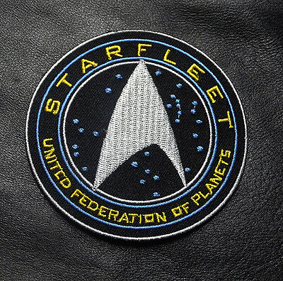 Star Trek Beyond Starfleet United Federation Planets Embroidered IRON ON Patch